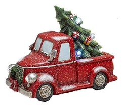 The Lakeside Collection Lighted Decorations - Red Pick Up Truck - €59,61 EUR