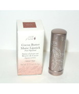 100% Pure Fruit Pigmented Cocoa Butter Matte Lipstick MOJAVE clay brown ... - $29.65