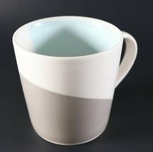 Vintage NOS New 2005 Baby Blue & Grey Wave Wavy STARBUCKS Coffee Mug 14o... - $11.47