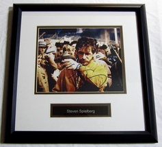 STEVEN SPIELBERG AUTOGRAPHED HAND SIGNED 8x10 PHOTO DOUBLE MATTED FRAMED... - $249.99