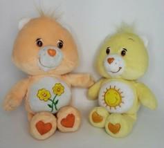 Care Bears Plush Lot Funshine Friend Bear Yellow Embroidered Lovey Plush... - $22.75