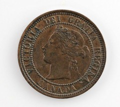 1881-H Canada 1 Cent Coin (XF) Extra Fine Condition - $89.10