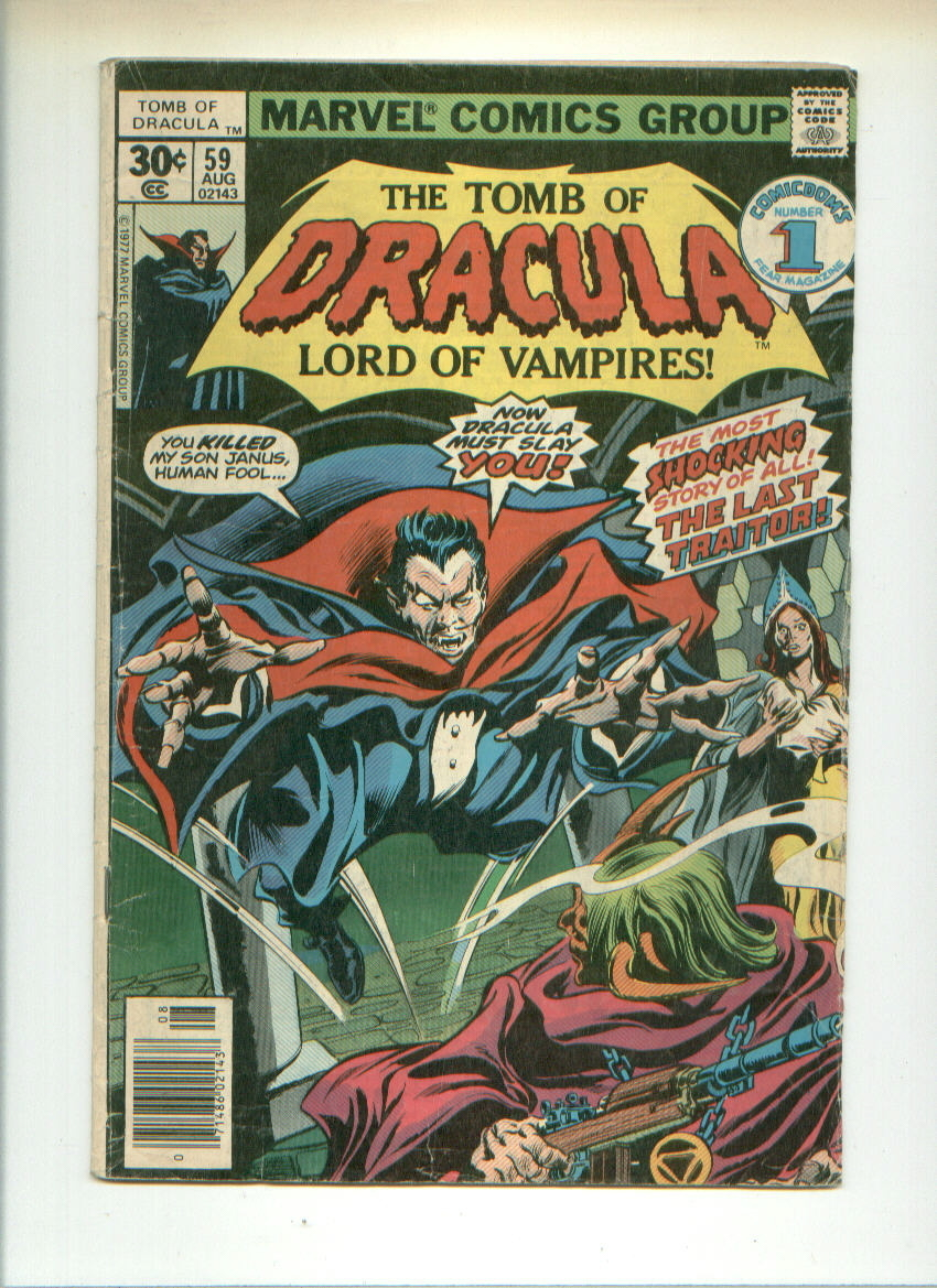 Famous Monsters plush+DRACULA'S GUEST book+MARVEL COMIC Tomb of Dracula #59