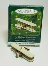 Hallmark Keepsake Ornaments The Flight At Kitty Hawk Miniature 2001 Sky'... - $5.89