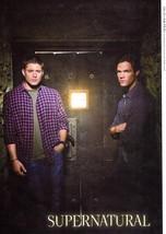 Jensen Ackles Jared Padalecki teen magazine pinup clippings Bop Supernatual