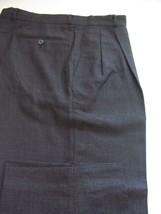 (T280) MINT ERMENEGILDO ZEGNA LIGHT VIBRANT WOOL DARK GRAY PANTS - 34 X 28 - $46.03