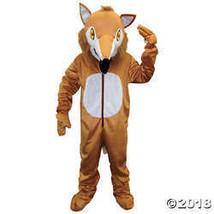 Unisex Adult Fox Mascot Costume STANDARD - £66.27 GBP