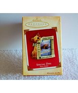 Hallmark Keepsake Special Dog 2004 Photo Holder Christmas Ornament - $10.88
