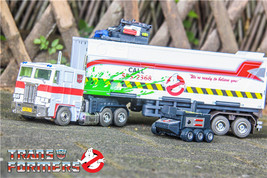 HASBRO GHOSTBUSTERS TRANSFORMERS SDCC MP-10G ECTO-35 OPTIMUS PRIME - $148.00