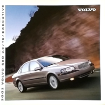 2002 Volvo S80 sales brochure catalog US Canada 02 2.9 T6 Executive Elite - $12.00