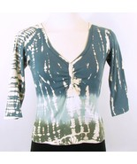 GLIMA Size Petite XS Bleached-Look Tee top - $11.99