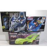 Batman Dark Knight Skywing, Netrunner & Knight Star Batmobile Lot of 3 -... - $52.25