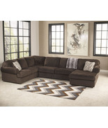 CAMDEN - Large Modern Brown Microfiber Living Room Sofa Sectional Set Fu... - $1,398.71