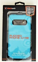 Blackweb Rugged Case with Rotating Holster For Samsung Galaxy S10 in Teal