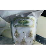 Georges Briard Lowball Tumblers Rock Glasses Set of 6  Fleur De Lis  Fil... - $79.19