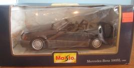 maisto special edition Mercedes benz 500 SL 1989 1:24  Diecast - $34.65