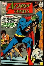 Action Comics #363 1968- Superman- Leper from Krypton- Supergirl- Luthor FN - $31.53
