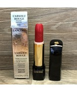 LANCOME L'ABSOLU ROUGE ADVANCED HYDRATING LIPCOLOR 160 ROUGE AMOUR (RED)... - $20.95