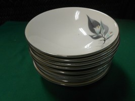 "Beautiful HOMER LAUGHLIN ""Rhythm"" Set of 8 BOWLS 5.5"" - $37.21"