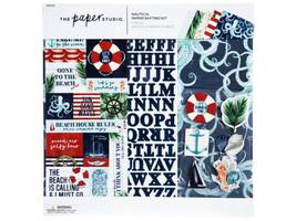 The Paper Studio Nautical Papercrafting Kit #1865500 Scrapbooking & Card Making image 1