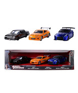 NEW Fast and Furious 1:32 Die-Cast Cars, 3-pack FREE SHIPPING - $27.49