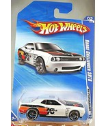 2010 Hot Wheels #100 HW Performance K&N 2/10 DODGE CHALLENGER SRT8 White... - $9.80