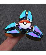 Pokemon Go Fidget Spinner Metal Tri Spinner Stress Hand Spinner - $16.99