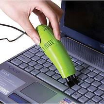 Mini USB Vacuum Keyboard Cleaner Dust Collector Vacuum Brush for PC Laptop - $5.68