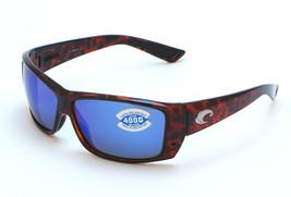 Costa del Mar Cat Cay Sunglasses AT 10 BMGLP - Tortoise/Blue Mirror Glas... - $127.46
