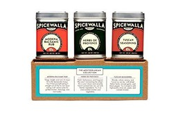 Spicewalla Mediterranean Spices Collection 3 Pack | Tuscan Seasoning, He... - £18.57 GBP