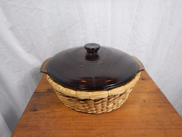 "Vintage Anchor Hocking Fire King 8"" Casserole D... - $25.99"
