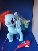 My Little Pony Singing Rainbow Dash 3 Ways To Play & Sing Along W/Mic  - $10.00