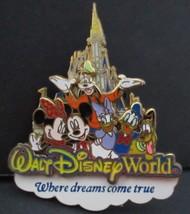 Disney Official Pin Trading Walt Disney World Where Dreams Come True Pin 2007 - $16.82