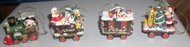 Disney Train ornaments Mickey Minnie Donald Daisy Goof - $39.99