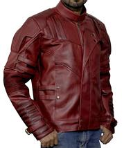 Guardians Biker Star Lord Chris Costume Leather Galaxy Vol 2 Jacket image 2