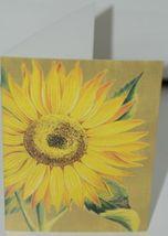 Caspari 7961446 Sunflower 8 Assorted Boxed Notes and Envelopes 2 Designs image 3