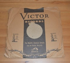 "Verdi La Traviata 78rpm RCA Victor 12"" Record with World War II War Bond... - $9.99"
