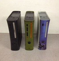 QTY3 Lot Microsoft Xbox 360 General Hardware Failure Red Ring For Parts Repair - $75.00