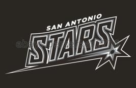 San Antonio Stars WNBA 3'x5' black Flag Becky Hammon Sophia Young USA se... - $25.00
