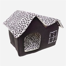 Super Soft British Style Pet House Size M Coffee - $43.20