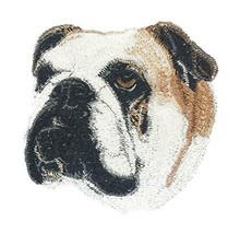 Amazing Dog Faces [Bulldog-2[Custom and Unique] Embroidered Iron on/Sew ... - $7.91