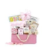 Bundle of Joy Pink Baby Girl Gift Basket - $54.51