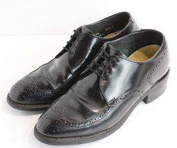 Men  39 s Black Imperial Leather Wingtip Tall Lift Shoes 2 quot  Height  Enhancement 48f30dda789