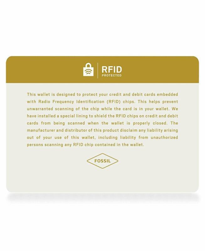 Fossil Women'S Caroline Rfid Phone Wallet image 5