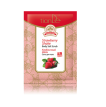 5 packs. x Tiande Hainan Tao Strawberry Shake Body Salt Scrub, 60 g. - $16.06