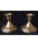 Vintage Preisner Weighted Sterling Candle Holders - $46.74