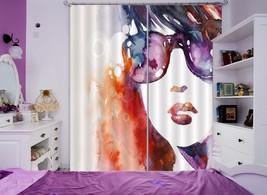 3D Watercolor 0418 Blockout Photo Curtain Print Curtains Drapes Fabric Window UK - $145.49+