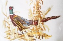 Pheasant 2459 Sunset Stitchery 1977 KIT Wool Yarn 16 by 20 Wheat Corn Ha... - $9.89