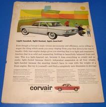 Chevrolet Corvair ~ Original Print Ad ~ Chevy Auto Car - $6.18