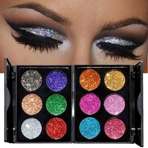 Eye Palette Shadow Powder Beauty Eyebrow Makeup Shading Face Supply Tool... - $6.99